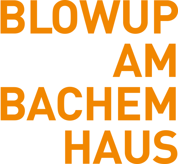 BLOWUP AM BACHEMHAUS